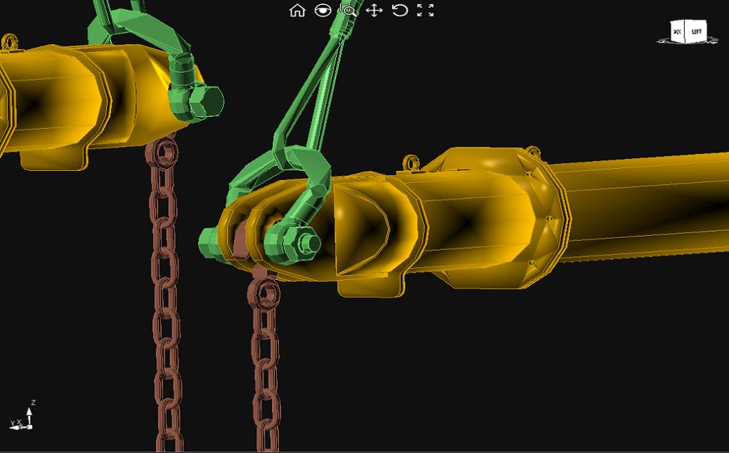 CRANEbee rigging